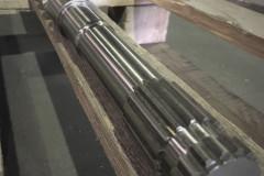 Шлицевое соединение хвостовика шнека 50 мм
