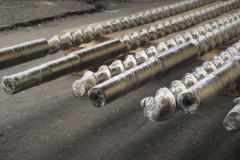 Шнеки 45 мм готовы к отправке заказчику